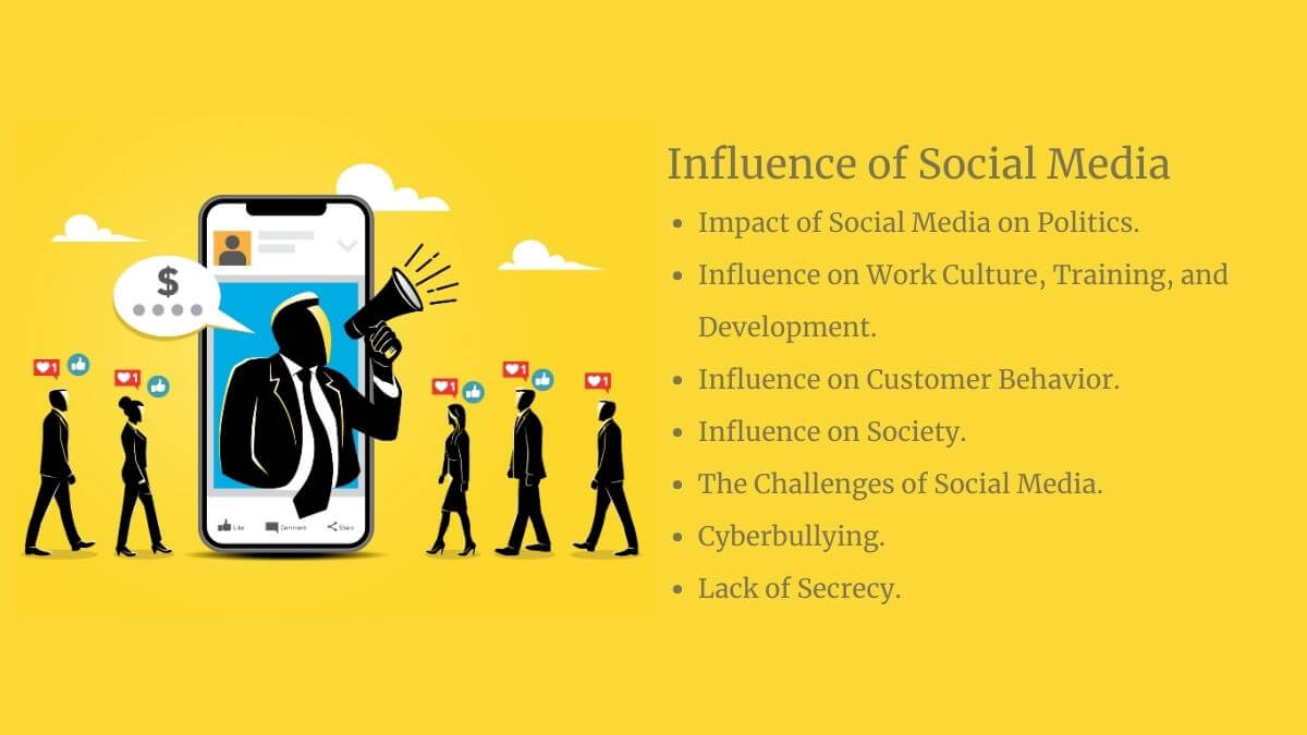 How does Social Media Influence the Real World?